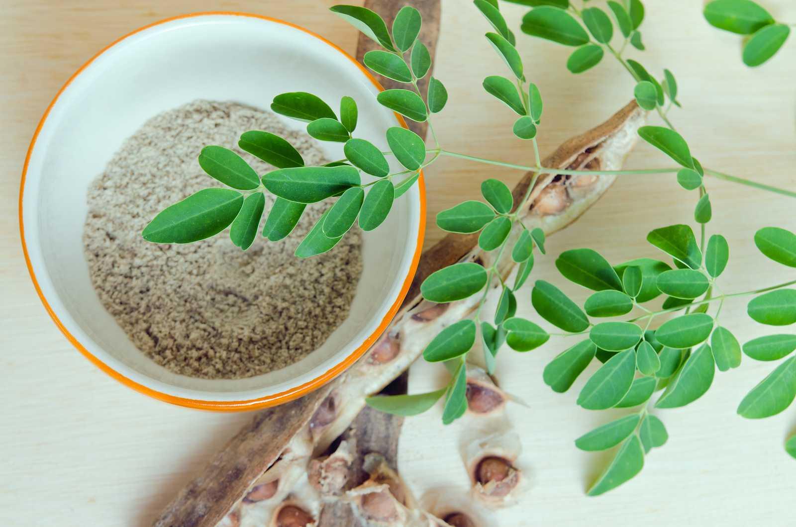 TheKBeauty - Moringa foglie, fave ed estratto secco