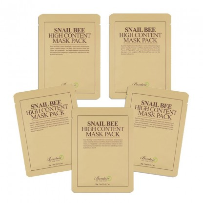 Benton Snail Bee High Content Mask Pack - The K Beauty