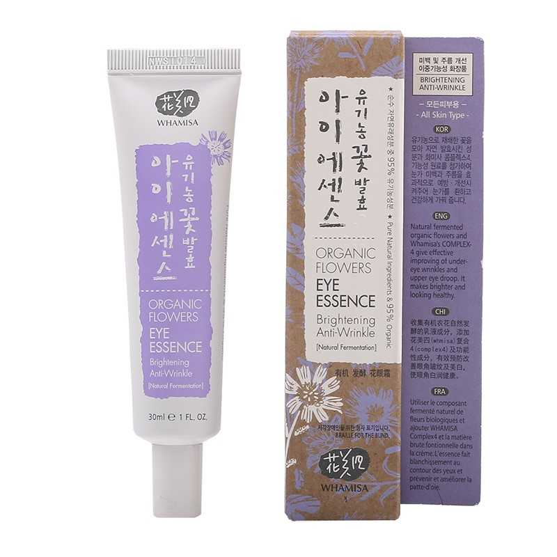 Whamisa Organic Flowers Eye Essence - The K Beauty