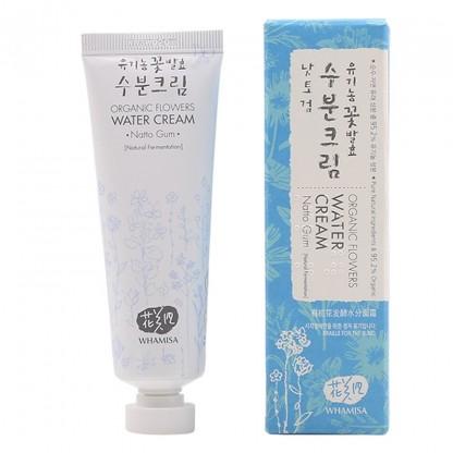 Whamisa Organic Flowers Water Cream - The K Beauty