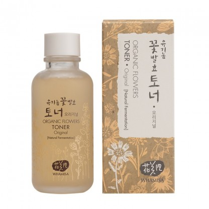 Whamisa Organic Flowers Toner Original - The K Beauty