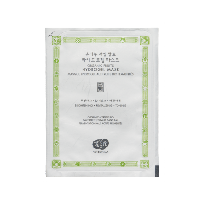 Whamisa Organic Fruits Hydrogel Mask maschera idratante in hydrogel The K Beauty
