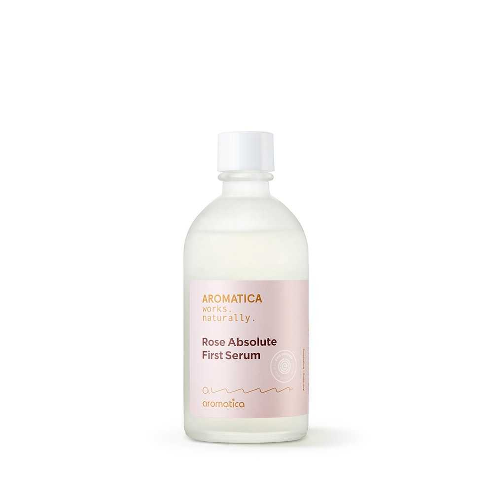 Aromatica Rose Absolute First Serum tonico essence The K Beauty
