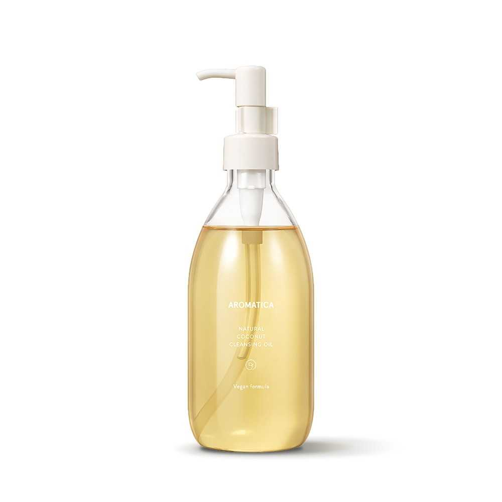 Aromatica Natural Coconut Cleansing Oil olio struccante The K Beauty
