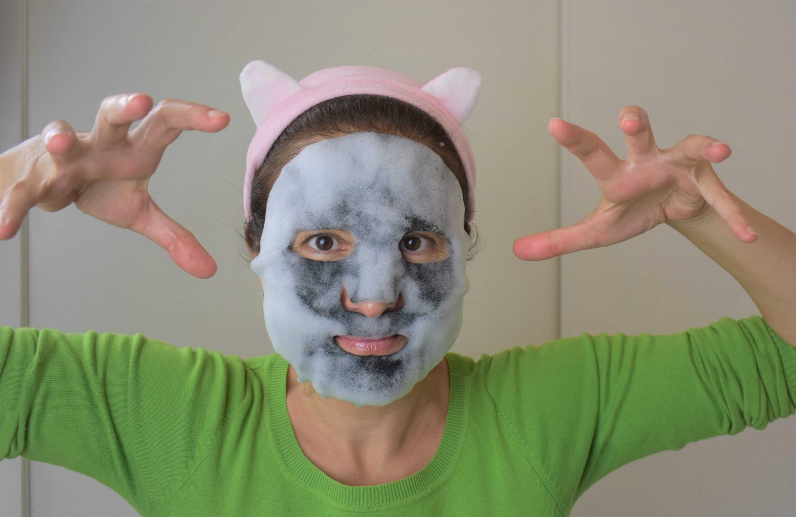 Bubble mask: le maschere coreane per pulire e idratare la pelle