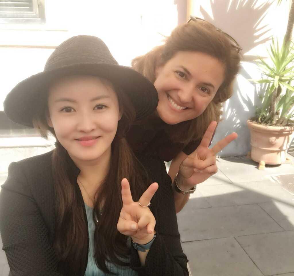 Ilaria Toscano fondatrice di The K Beauty e Jina Lee fondatrice di Urang
