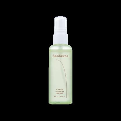 SandaWha Camellia Brithening Oil Mist tonico idratante spray The K Beauty