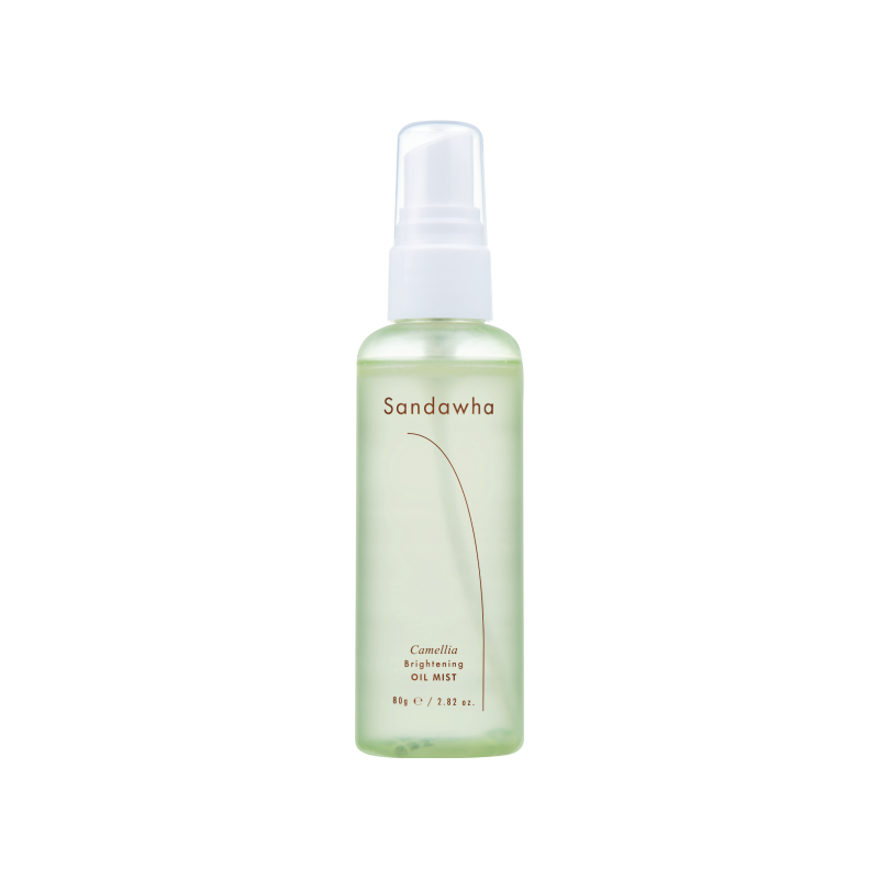 SandaWha Camellia Brithening Oil Mist tonico idratante spray The K Beauty