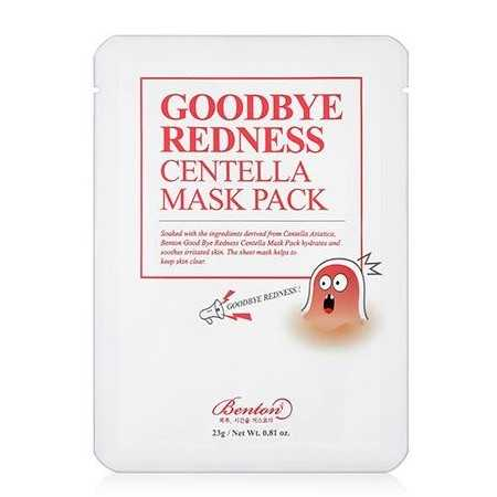 Benton Benton Good Bye Redeness Centella Mask maschera idratante The K Beauty