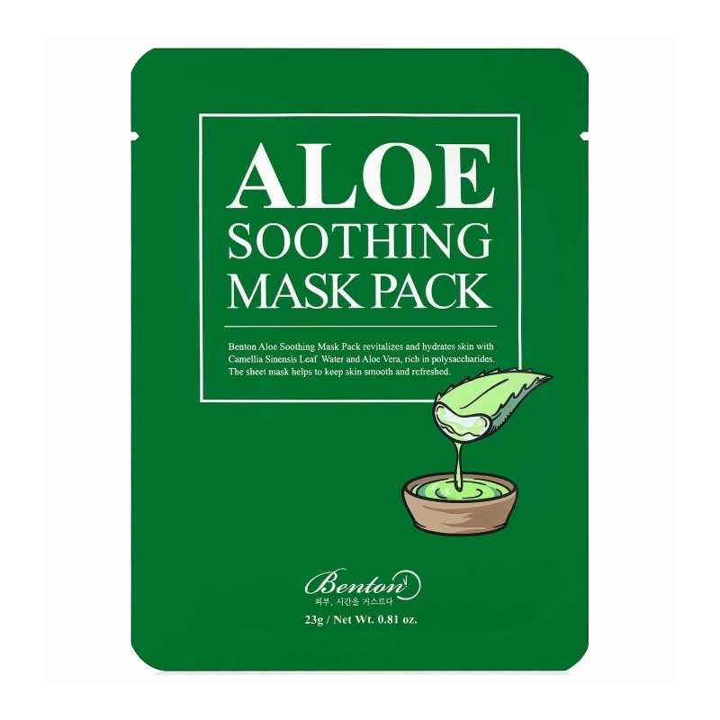 Benton Aloe Soothing Mask Pask maschera in tessuto idratante The K Beauty