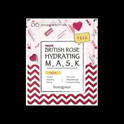 Huangjisoo British Rose Hydrating Mask maschera viso The K Beauty