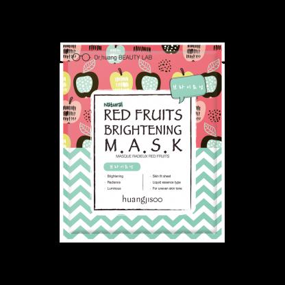 Hunagjisoo Red Fruits Brightening Mask maschera illuminante e schiarente The K Beauty