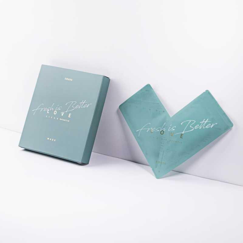 Urang Love Cica X Opuntia Mask 5 Set maschere in tessuto idratanti The K Beauty