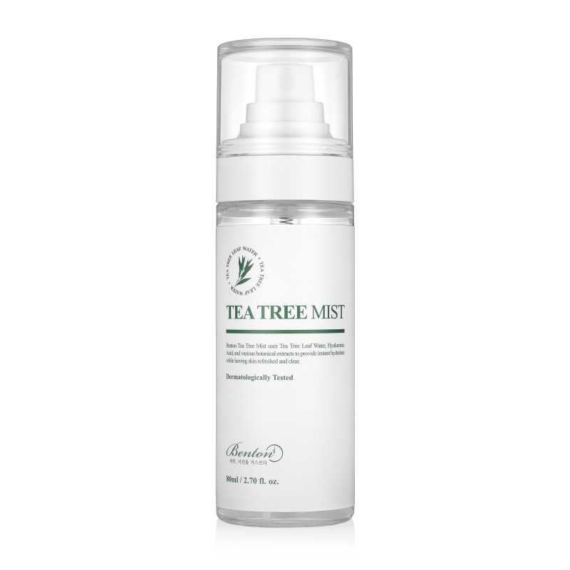 Benton Tea Tree Mist tonico idratante e lenitivo a base tea tree The K Beauty