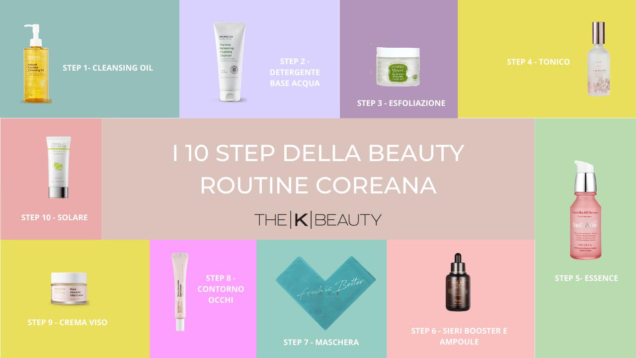 10 step della beauty routine coreana per una pelle bellissima