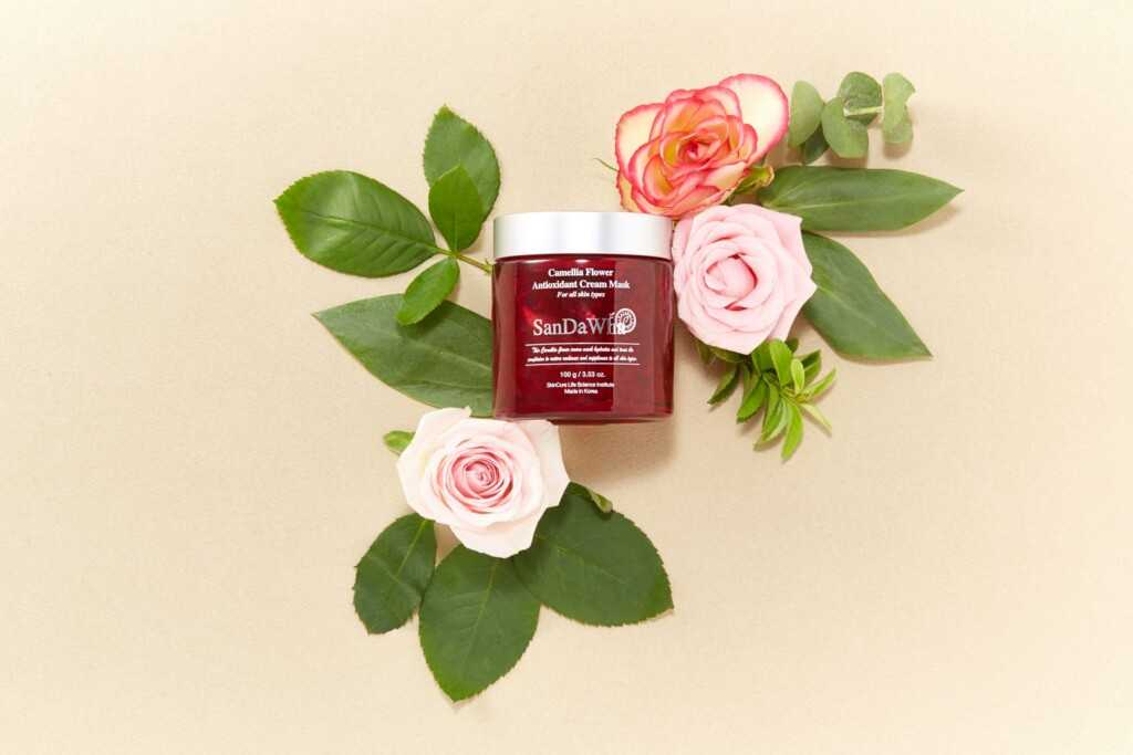 SanDaWHa Camellia Flower Antioxidant Mask review