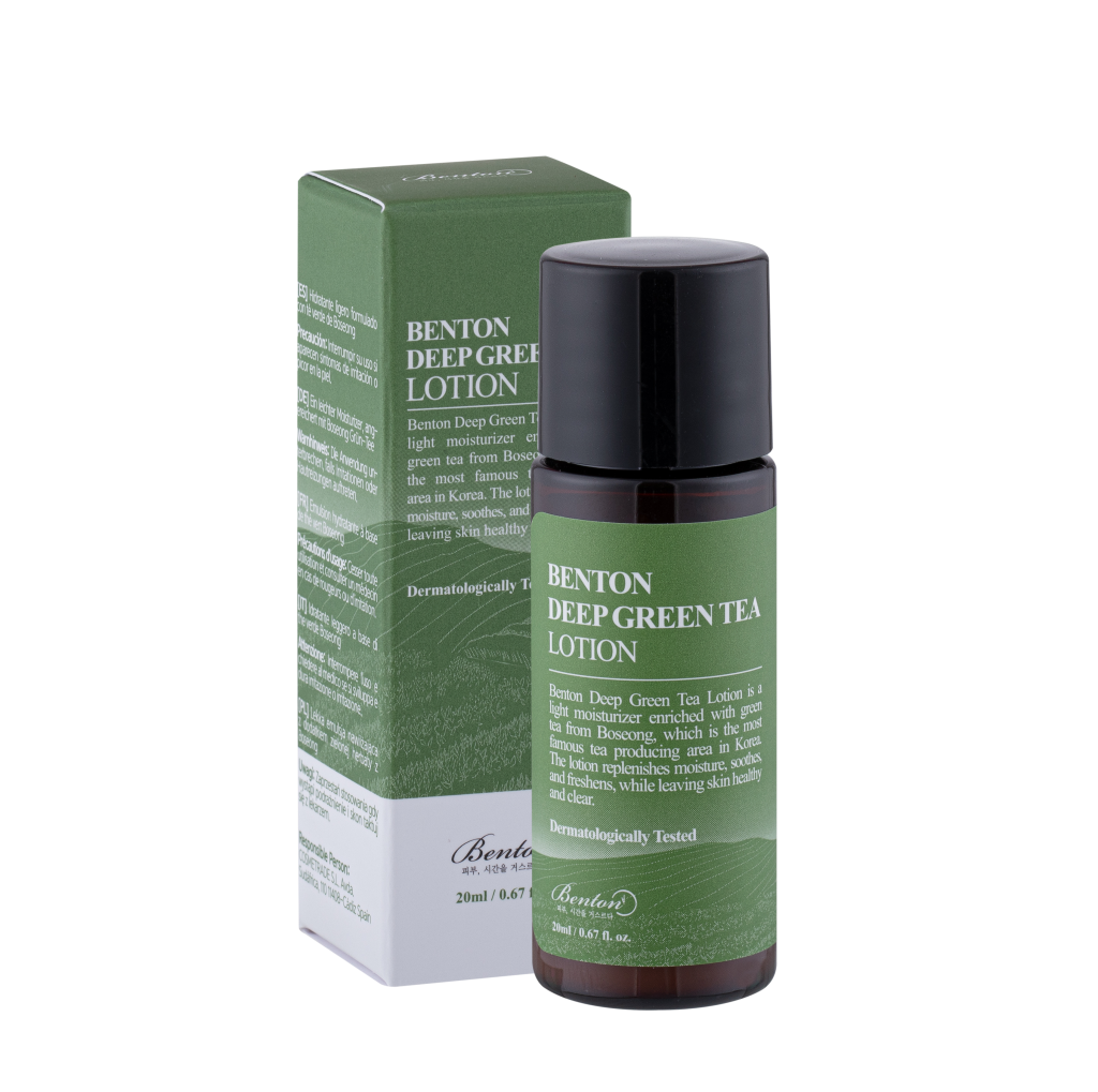 Benton MINI Deep Green Tea Lotion