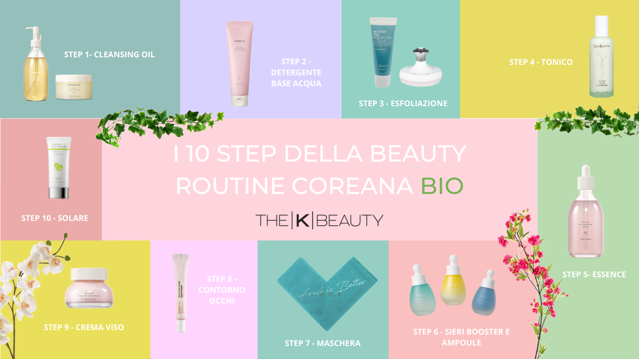 10 step beauty routine coreana bio