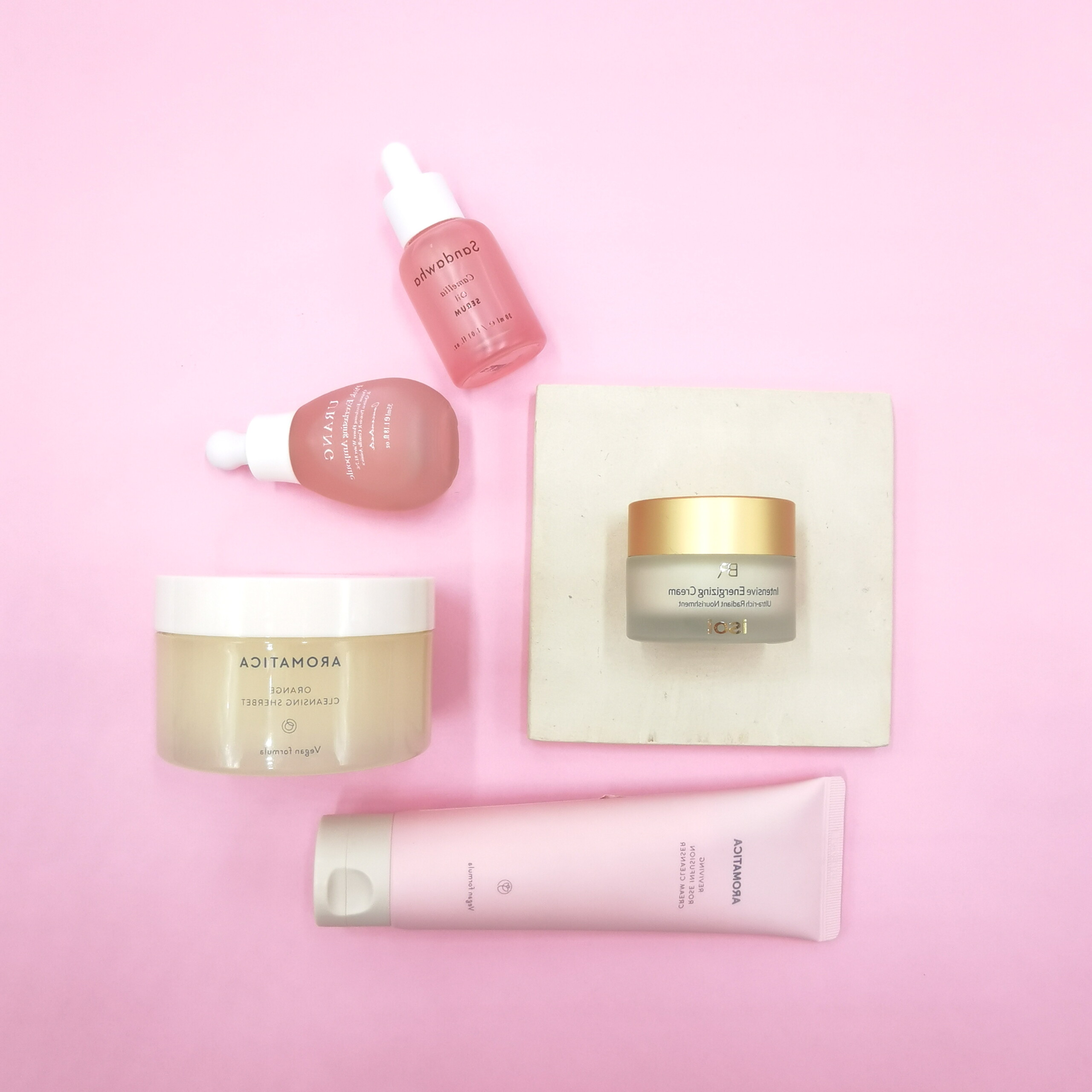 Routine Pelle Secca The K Beauty