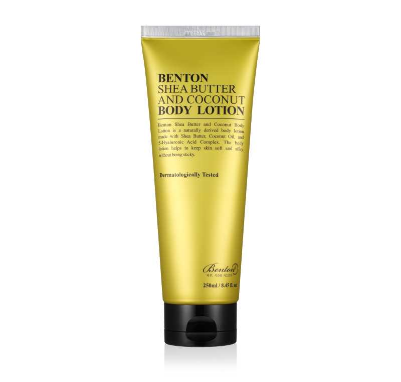 Benton Shea Butter and Coconut Body Lotion crema per il corpo