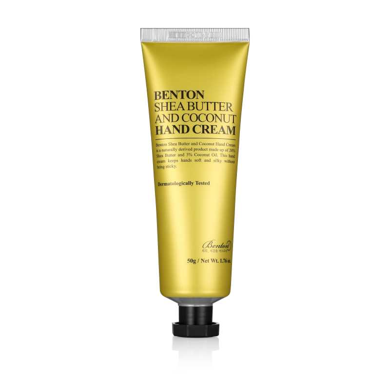 Benton Shea Butter and Coconut Hand Cream crema mani