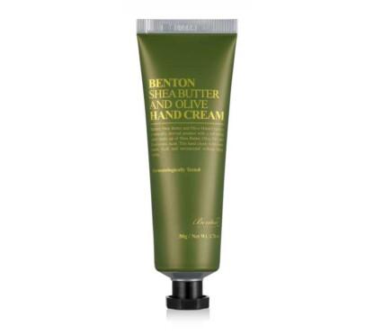 Benton Sha Butter Olive Hand Cream crema mani
