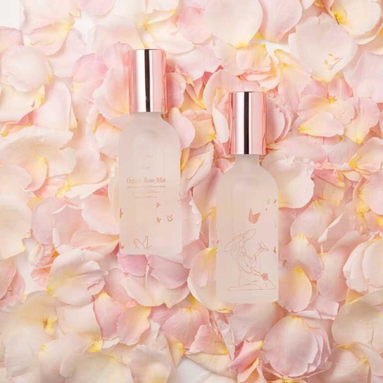 Organic Rose Mist di Urang tonico viso