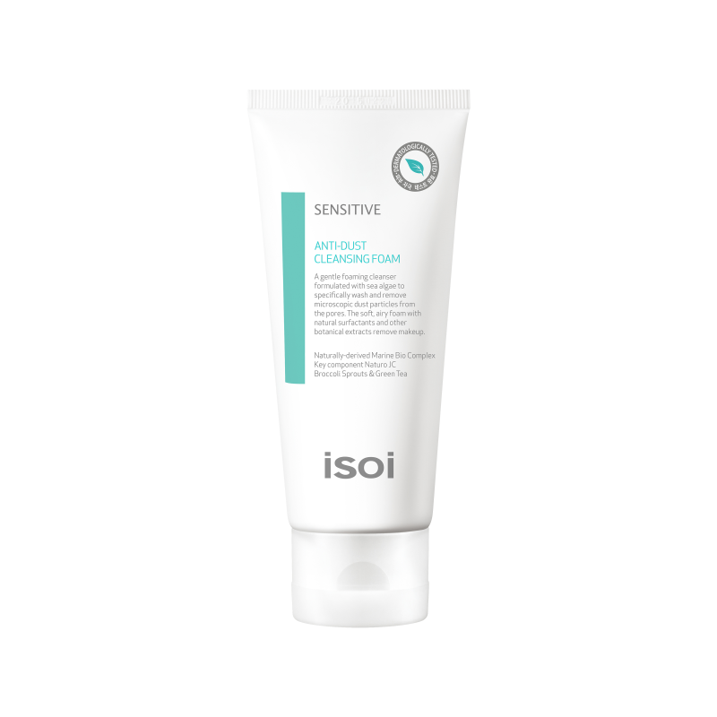 ISOI Sensitive Anti-dust Cleansing Foam Detergente base acqua