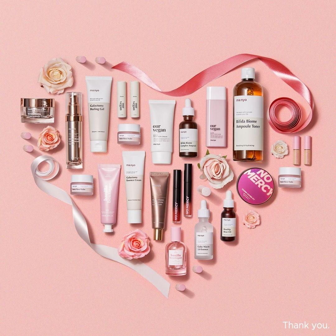 Ma:nyo il beauty brand bio giovane clean beauty cosmesi coreana