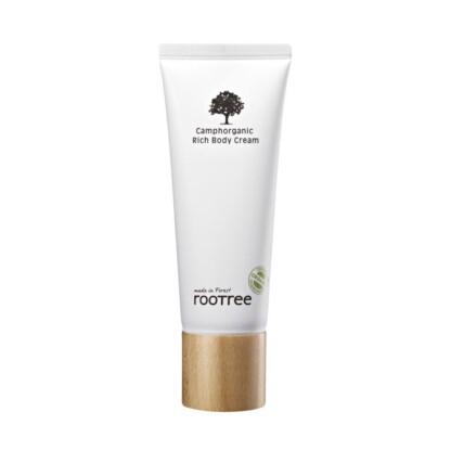 rootree Camphorganic Rich Body Cream crema corpo idratante