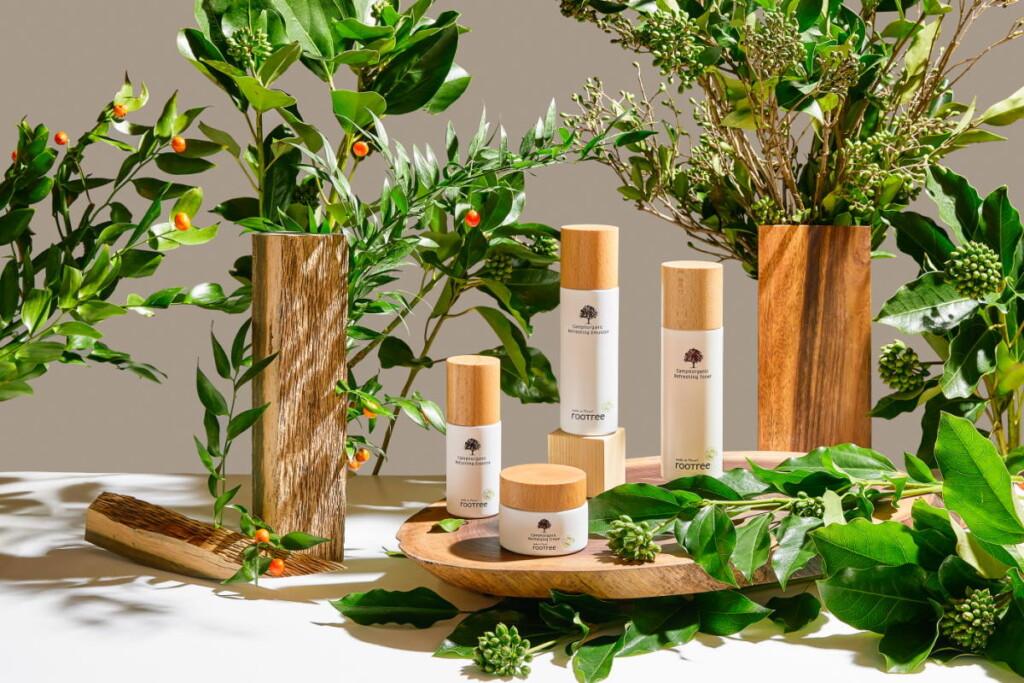 rootree brand biologico cosmetici coreani